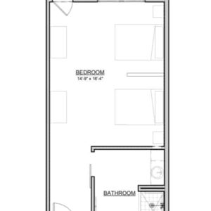 Ginger – Companion Suite – 459 Sq. Ft.